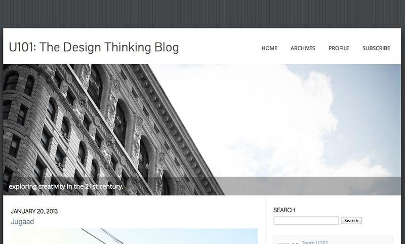 U101_ The Design Thinking Blog